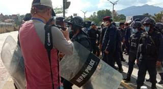 काठमाडौंमा चिनियाँहरूले प्रहरीमाथि गरे सामूहिक आक्रमण, डीएसपी घाइते, ३८ जना पक्राउ