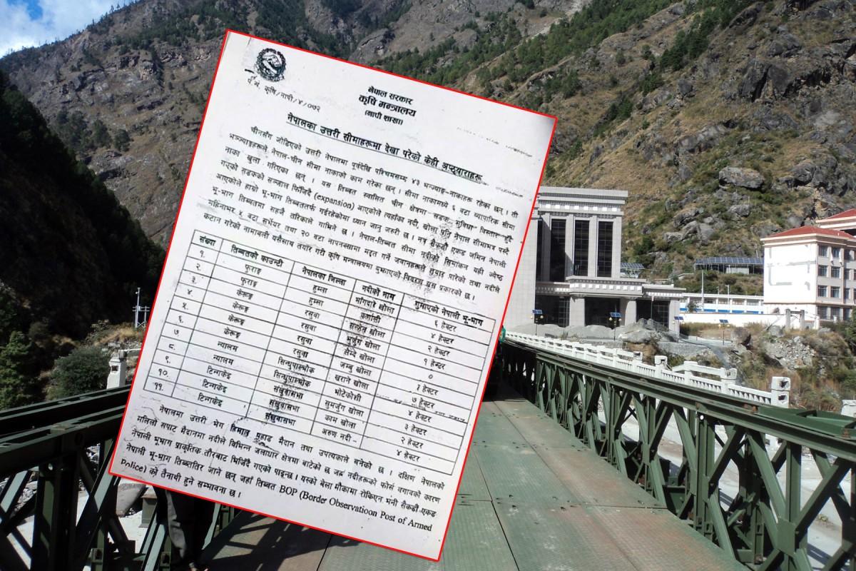 नेपालमा यी ११ स्थानमा चिनियाँ अतिक्रमण, किन बोल्दैन सरकार ?