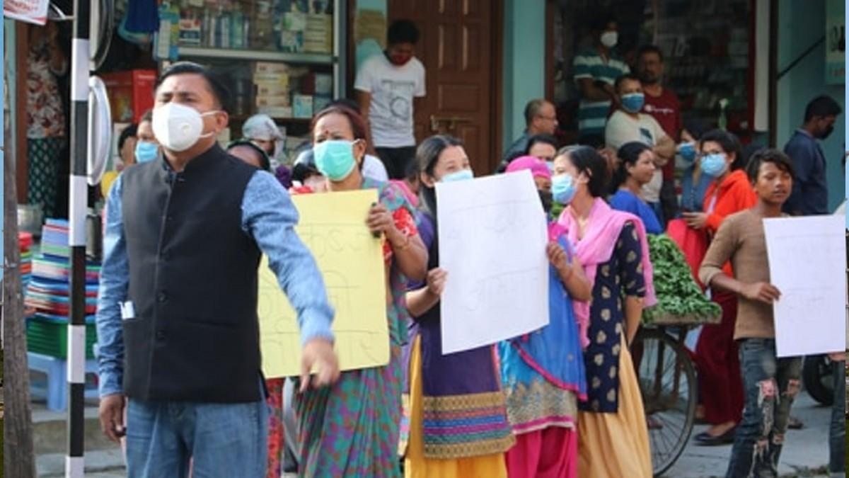 परराष्ट्रमन्त्रिविरुद्ध विरगञ्ज र काठमाडौंमा भव्य प्रदर्शन, मागियो राजीनामा