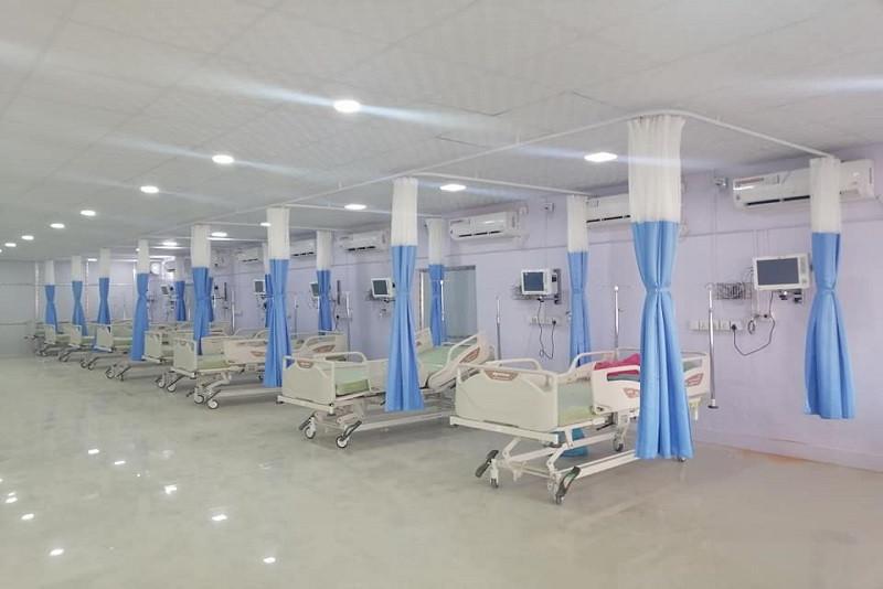 राष्ट्रिय रंगशाला नै अस्थायी कोरोना अस्पताल