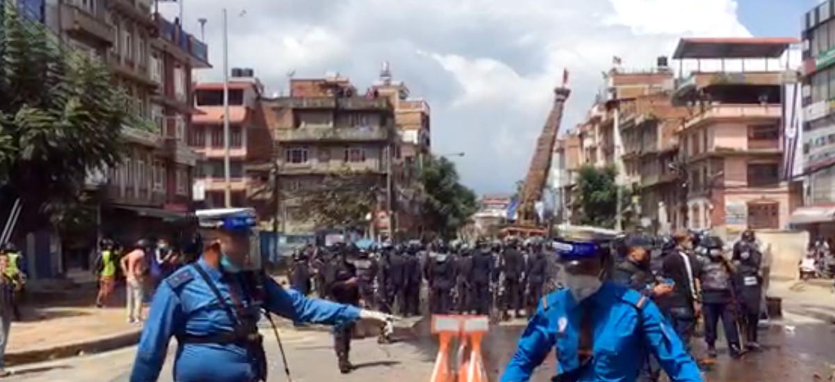 सरकारको 'रवैया'का कारण पुल्चोकमा झडप : शिव सेना नेपाल