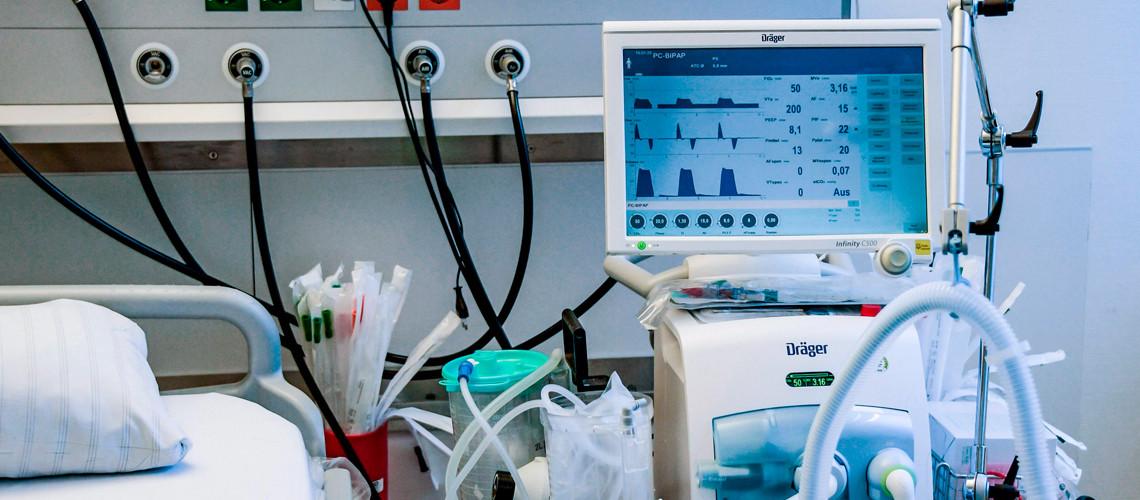 काेराेनाकाे माहामारीमा जिल्ला अस्पतालको भेन्टिलेटर निजीमा