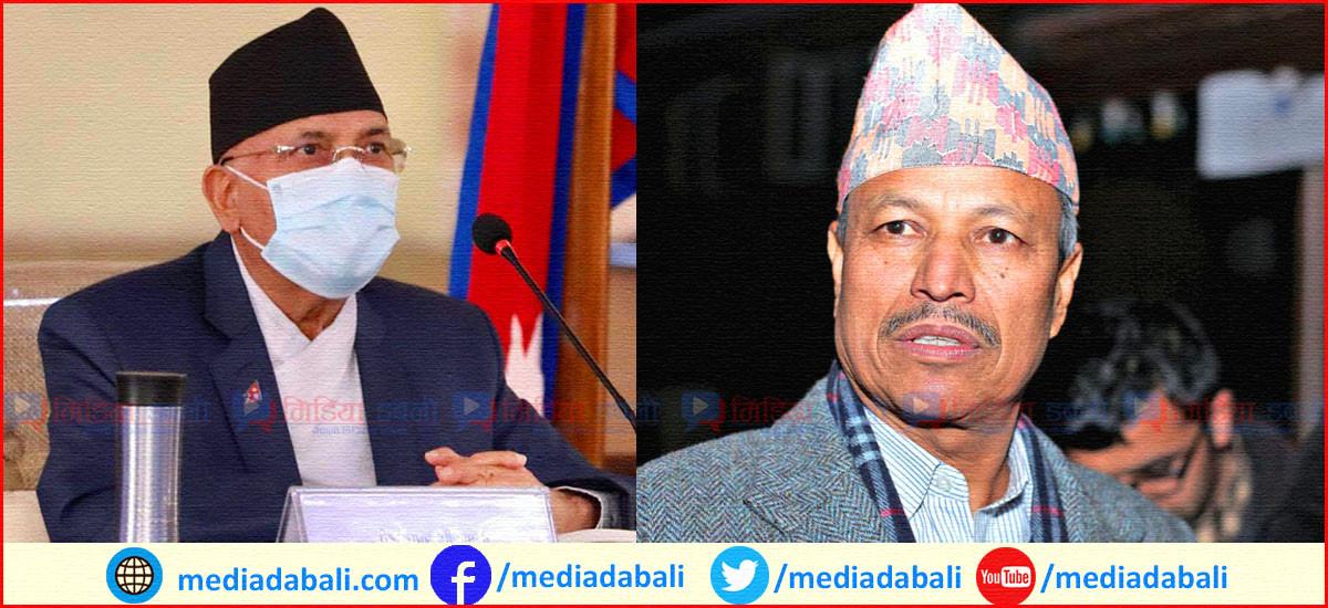 एमालेमा केपी ओली र भीम रावल पक्षबीच सहमति, भोलि हुँदैछ स्थायी कमिटीबाट निर्णय