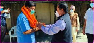 नेकपा जिल्ला सचिवालय सदस्य केसी कांग्रेसमा प्रवेश, नेकपामा सन्नाटा
