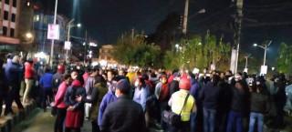 कांग्रेससँग जिस्किएपछि ओली सरकारविरुद्ध रातारात प्रदर्शन, सडकमा उर्लिए जनता !