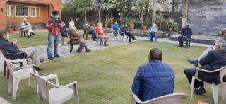 देउवा निवासमै नेपाली कांग्रेसले बोलायो बैठक, प्रचण्डको अफरबारे के होला निर्णय ?