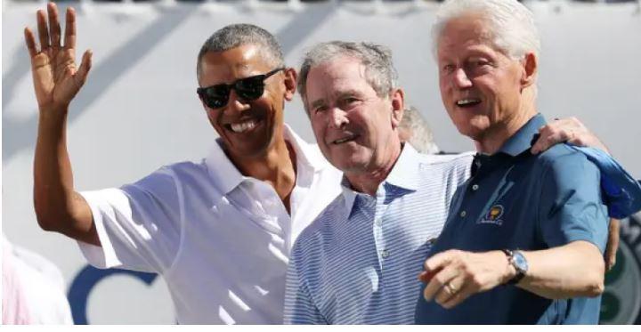 टेलिभिजन लाइभमा आएर अमेरिकाका तीन पूर्वराष्ट्रपतिले लगाउँदैछन् कोरोना खोप