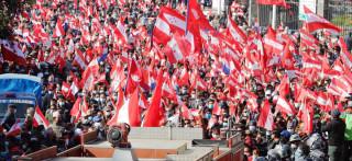 केपी ओलीविरुद्ध कांग्रेसले देशभरका वडामा प्रदर्शन गर्दै, तात्यो देशभरको माहोल