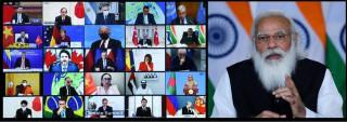 जलवायु शिखर सम्मेलनमा प्रधानमन्त्री नरेन्द्र मोदीले गरे सम्बोधन
