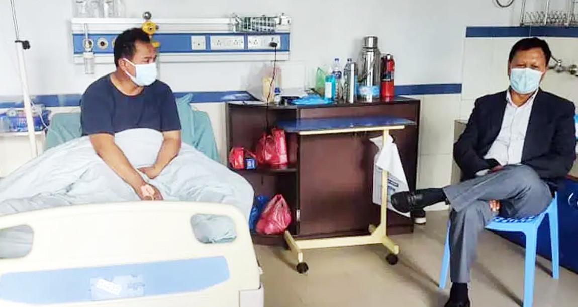 अचानक ज्वरो आएपछि कांग्रेस नेता महर्जन अस्पताल भर्ना