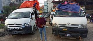 दशैंमा जिल्लावासीका लागि सहारा बने अमृत : काठमाडौंदेखि स्याङ्जासम्म निःशुल्क गाडी